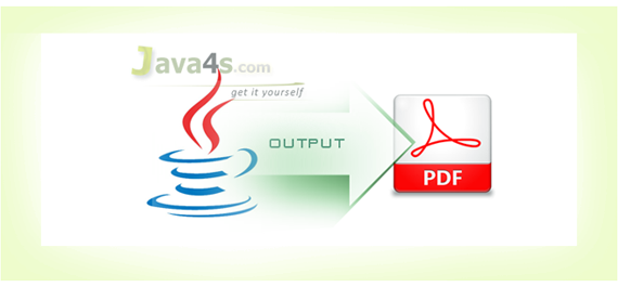 Creating PDF with Java and iText, Generating PDF Using Java