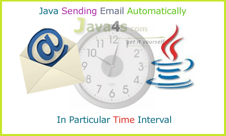Send Java EMail in Specific Time Interval Automatically & Dynamically