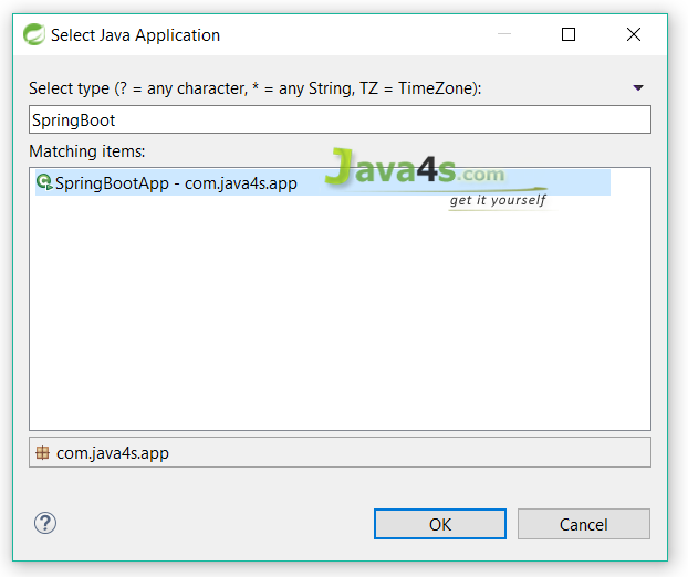 Spring-Boot-Hello-World-Select-Java-Application