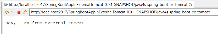 How to Deploy Spring Boot Applications on External Tomcat Server