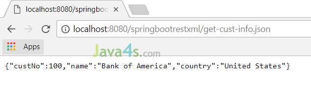 Spring Boot - Example of RESTful Web Service with XML Response